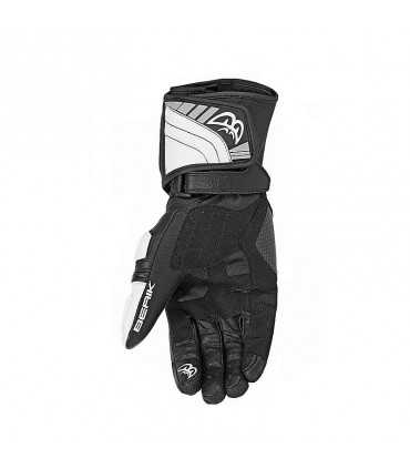 Racing gloves Berik 2.0 race black white