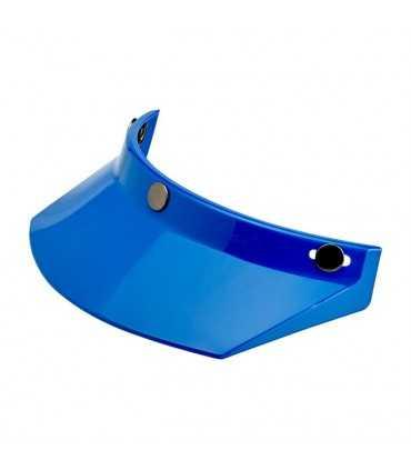 BILTWELL VISOR MOTO 3 SNAP BLUE