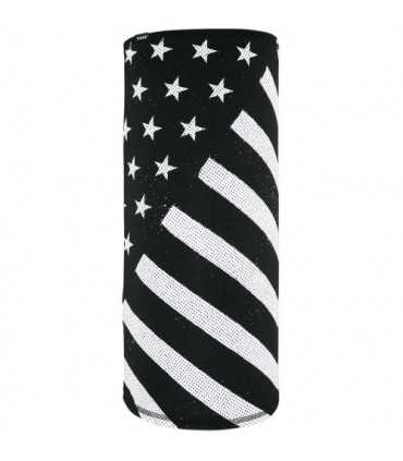 ZAN MOTLEY TUBE FLAG BLACK