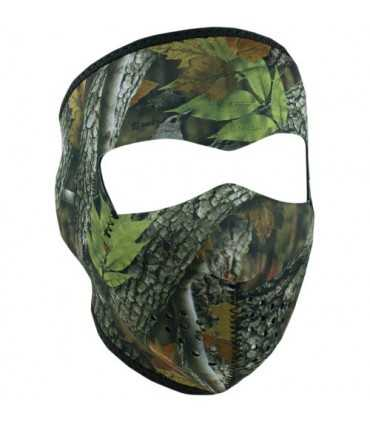 ZAN FULL FACE MASK FOREST CAMO ONE SIZE
