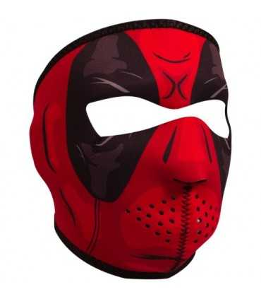 ZAN FULL FACE MASK RED DAWN ONE SIZE