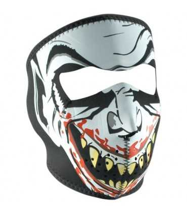 ZAN FULL FACE MASK GLOW-IN-THE-DARK VAMPIREONE SIZE