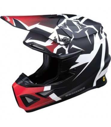 Moose Racing Agroid mips noir rouge