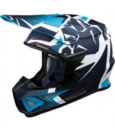Moose Racing Agroid mips noir bleu