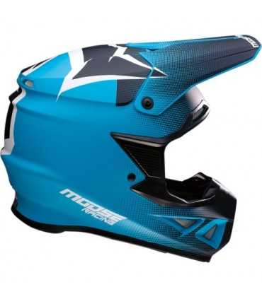 Moose Racing Agroid mips black blue