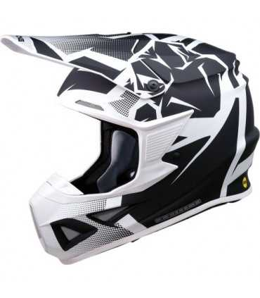 Moose Racing Agroid mips black white