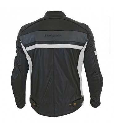 Motorcycle jacket Prexport Phanter black grey