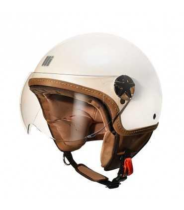 Casco jet Motocubo Ant bianco