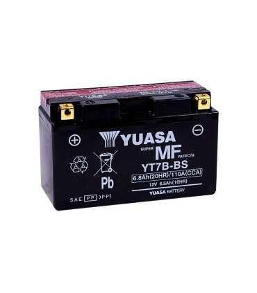 BATTERY YUASA YT7B-BS 12V 150 MM X 63,5 MM X 91,44 MM