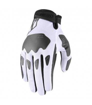 Icon Hooligan gloves white