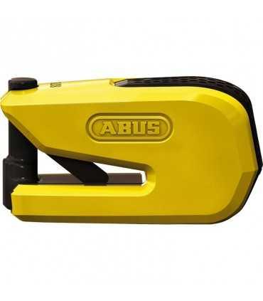 Abus 8078 Granit Detecto Smartx disc lock yellow