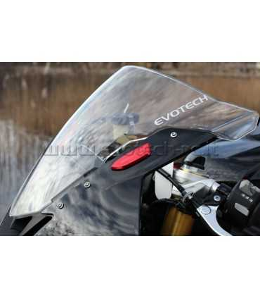 Evotech plaques de rétroviseurs Yamaha R1 (2009-14) Bmw S1000RR (2009-18)