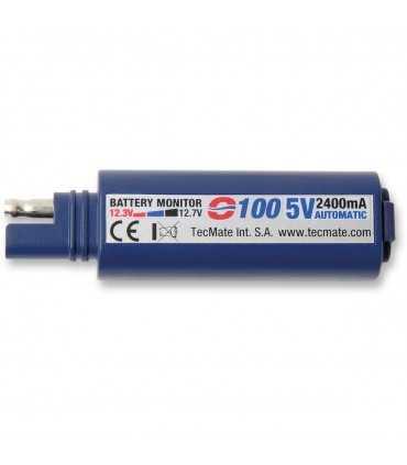 TECMATE USB CHARGER 0-100