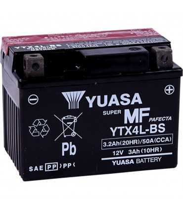 Batteria moto Yuasa YTX4L-BS 12V 114 MM X 71,12 MM X 83,82 MM LEAD ACID MAINTENANCE FREE