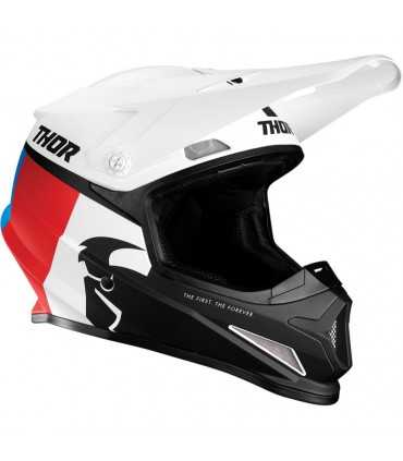 THOR SECTOR RACER WHITE/RED/BLUE