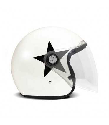 DMD P1 STAR jet helmet white