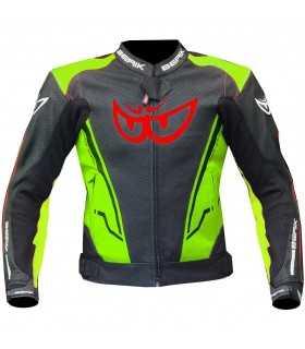 Motorradjacke Berik Sport 2.0 schwarz gelb