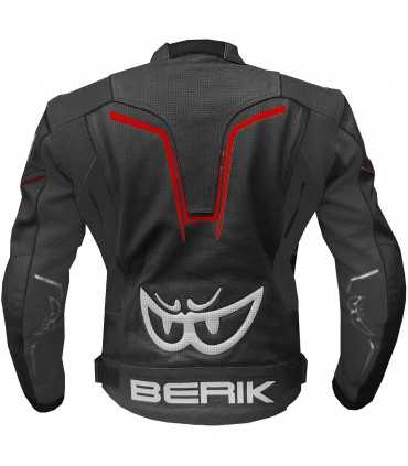 Giacca moto Berik Sport 2.0 nero rosso