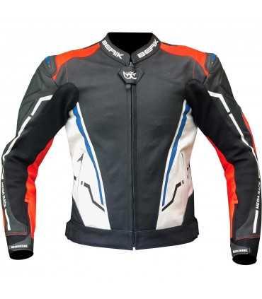 Jacket Berik Sport 2.0 black white black red blue