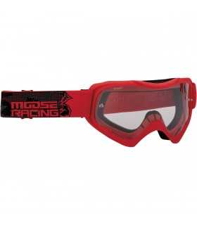 elch-Motocross-Maske QUALIFIER rot