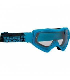 elch-Motocross-Maske QUALIFIER blau