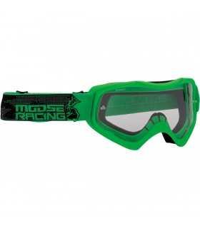 elch-Motocross-Maske QUALIFIER grün