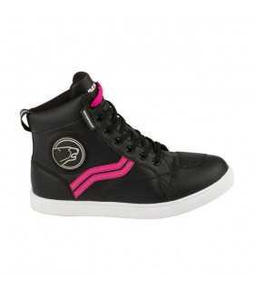 Chaussures moto Bering Stars evo femme noir pink