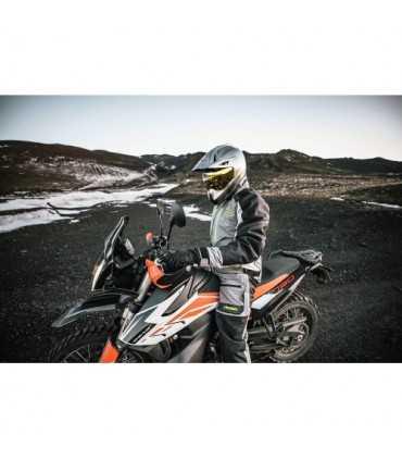 Giacca moto Icon Raiden grigio