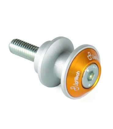 Lightech Swing Arm Spools M8 x1.25 gold
