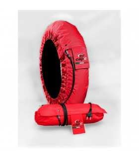CAPIT tire warmers MOTO SUPREMA SPINA m/xl red