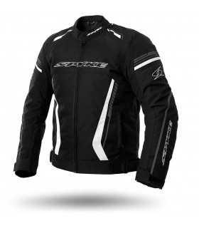 Veste moto Spyke Daytona dry tecno sport noir blanc
