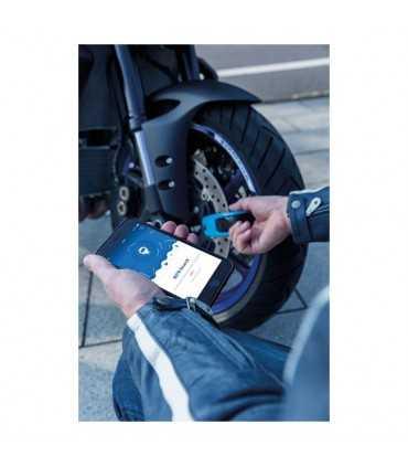 Abus 8078 Granit Detecto Smartx disc lock blue