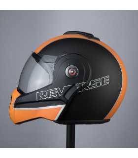 Bhr Reverse Cool helmet black matt orange