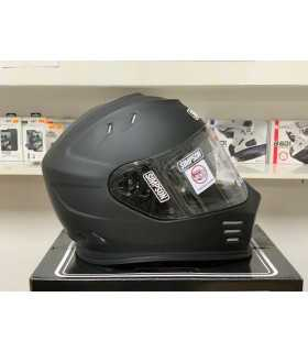 Simpson Venom black matt helmet