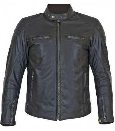 Motorcycle jacket Prexport Stripes black