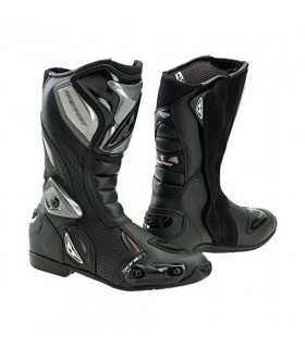 Bottes RACING PREXPORT SONIC PERFORATED NOIR