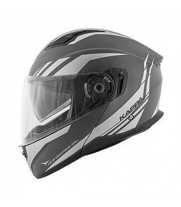 Kappa Arizona Phantom modular helmet titan matt
