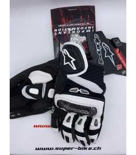 Alpinestars Gp-air Leather Glove black white