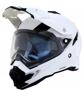 AFX HELMET FX41DS PEARL WHITE DOUBLE VISOR