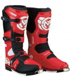 MOOSE RACING M1.3 MX BOOTS ROUGE