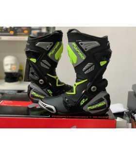 Rennstiefel Forma Ice Pro schwarz gelb