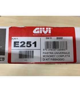 Givi E251 Monokey plate