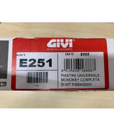 Givi E251 Piastra Universale MONOKEY