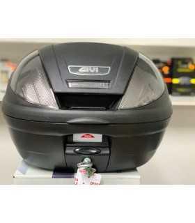 Bauletto nero goffrato Givi E370 Tech