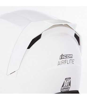 Icon Airflite rear spoilers white matt
