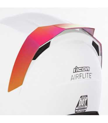 Icon Airflite rear spoilers red