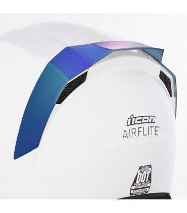 Icon Airflite rear spoilers blue