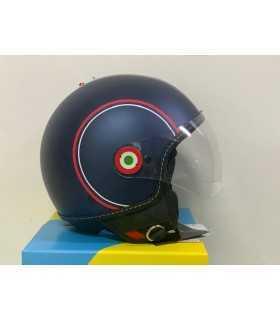 Helm JET Vespa Modernist blau