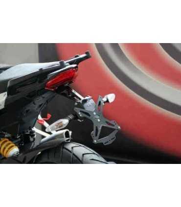 evotech Portatarga Ducati Multistrada '10-'14 (con borse)