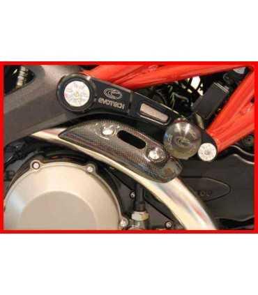 EVOTECH Street defender frame sliders DUCATI MONSTER 696/1100/1100EVO/796 (2008-14)